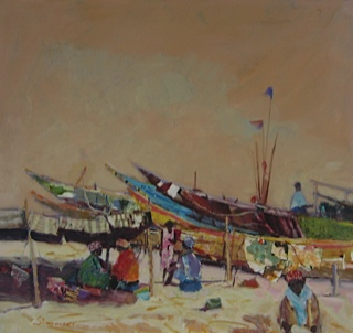 Working on Boats West Africa