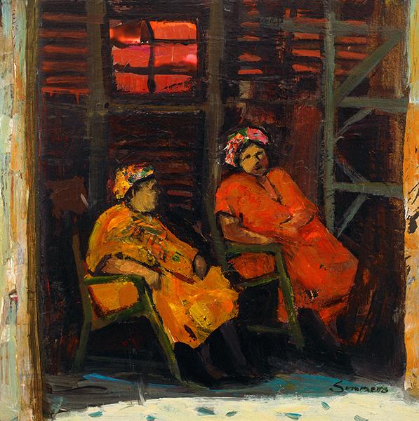 Evening Gossip