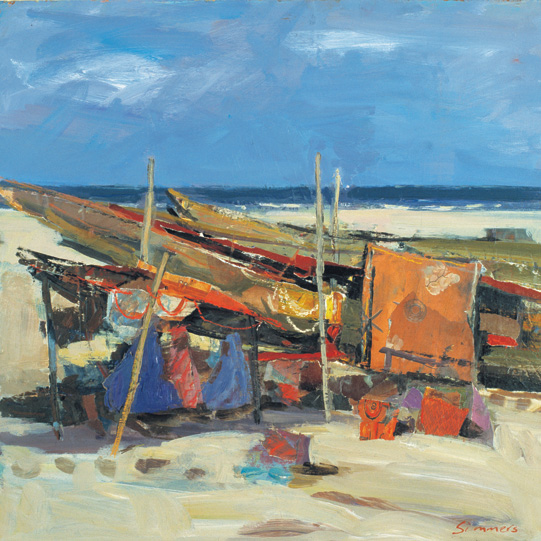 Fishing Boats West Africa